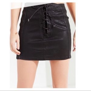 Urban Outfitters BDG Lace-Up Skirt
